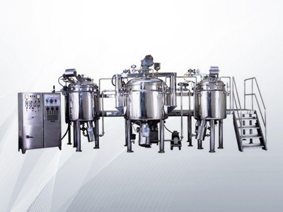automatic liquid manufacturing plant