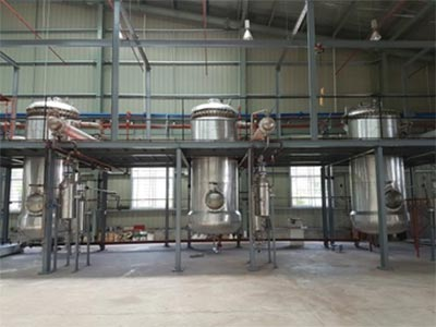 Essential Oil Extraction plant