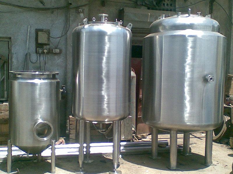 Insulated Pulp Storage Tank
