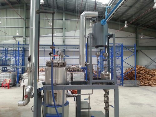 Pilot Steam Distillation Plant