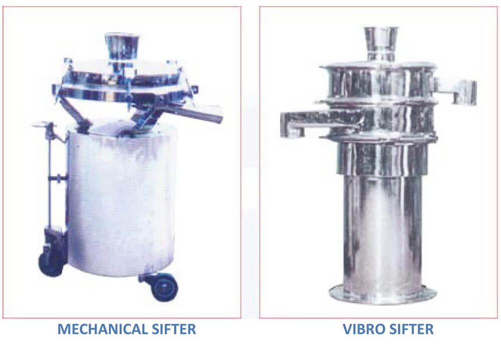 tablet sifter machine