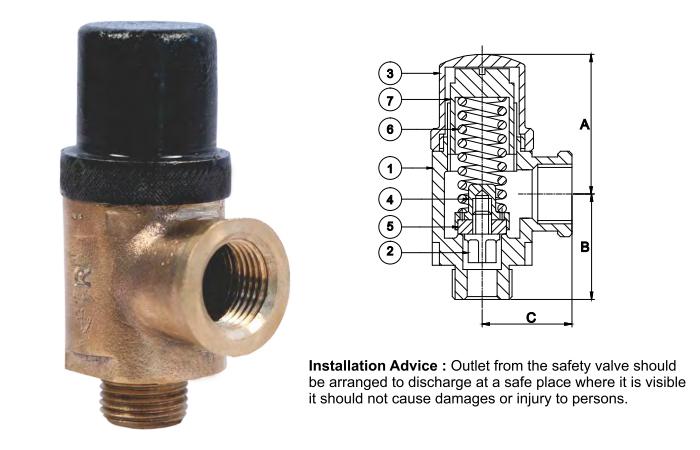relief safety valve