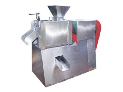 Milk Extraction Screw Press